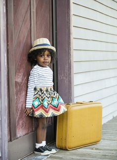 Stylo Magazine | a cute way to mesh being fashionable and a tot without looking too adult