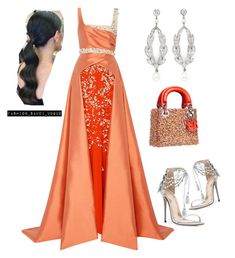 """""""Untitled #595"""" by fashionmahlo ❤ liked on Polyvore featuring Bibhu Mohapatra and Marchesa"""