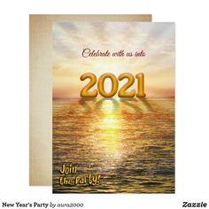 New Year's Party Invitation Invitation Card Party, Invitation Design, Custom Invitations, Boy Party Favors, Party Gifts, New Years Eve Invitations, Paris Party, Freedom Design, New Years Eve Party