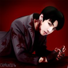 BTS Fanart || Jeon Jungkook | Vampire!AU