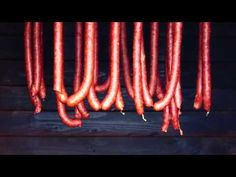 Swojska kiełbasa wędzona / cz. 2 wędzenie - YouTube Kielbasa, Polish, Make It Yourself, Cooking, Youtube, Kitchen, Vitreous Enamel, Cuisine, Koken
