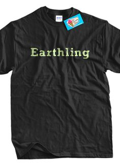 Earthling TShirt Alien Geek believe Sci Fi Science by IceCreamTees, $14.99