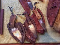Steel blade knives, Jimmy Manigrossi Holiday Market, Gift Guide, Knives, Blade, Steel, Guys, Knife Making, Knifes, Sons
