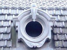 . Window Mirror, Mirrors, Exterior Design, Interior And Exterior, Dormer Roof, Architecture Details, Enchanted, Frames, Villa