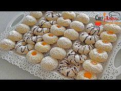 Fursecuri cu gem si nuca de cocos delicioase se topesc in gura - YouTube Coco, Biscuits, Sweets, Cookies, Make It Yourself, Gem, Breakfast, Ornament, Mary