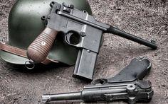 Armas Pistol Papel de Parede