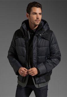 G star men's whistler hooded jacket