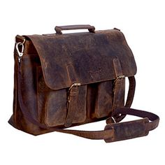 KomalC 18 Inch Retro Buffalo Hunter Leather Laptop Messenger Bag Office  Briefcase College Bag for Men and Women - A very good product for a fair  price. 372c274e8e