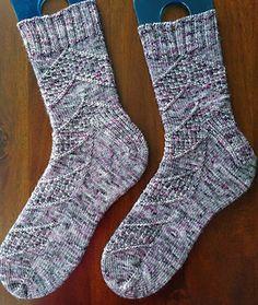 Ravelry: Speckled Space Socks pattern by Amanda Stephens Knitting Patterns Free, Knit Patterns, Free Knitting, Baby Knitting, Free Pattern, Knitting Socks, Knitted Hats, Knit Socks, Space Socks