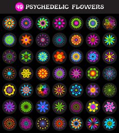 psychedelic-flowers-vector-pack-freebie