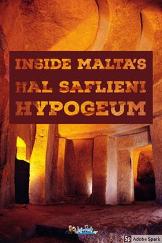Everything you need to know about visiting the Ħal Saflieni Hypogeum in Malta.  #Hypogeum #Malta Malta Travel Guide, Europe Travel Guide, Travel Guides, Travel Info, European Travel Tips, European Vacation, European Trips, Europe Destinations, Amazing Destinations