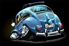Old skool vw bug