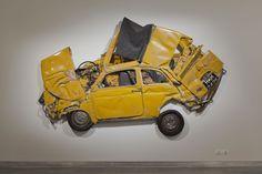MTT (Ron Arad,Pressed Flower Yellow, 2013)
