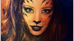 TIGER MAKEUP (in pictures) | Halloween | Pinterest | Tiger makeup ...