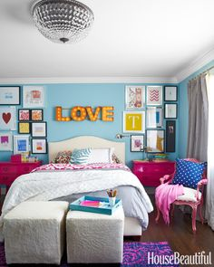 Colorful Kids Room Ideas - How to Decorate Your Kid's Room - House Beautiful