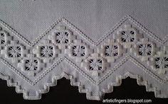 artisticfingers: Hardanger Embroidery