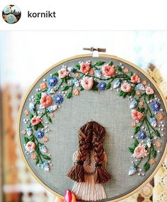 I Love Tennessee Floral Embroidery Patterns, Hand Embroidery Flowers, Silk Ribbon Embroidery, Embroidery Hoop Art, Crewel Embroidery, Embroidery Hoop Nursery, Cross Stitch Embroidery, Hand Embroidery Designs, Flower Pattern Drawing