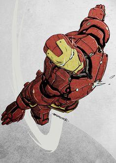 Iron Man by Nicolas Brondo Más