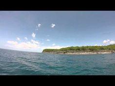 Les spots plongée à Bouillante et les ilets Pigeon au depart plage de Ma...