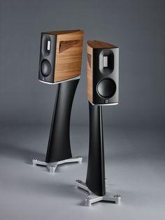 BØRRESEN 01 - 2 way monitor - Borresen-acoustics Music Speakers, Hifi Speakers, Sound Speaker, Bookshelf Speakers, Hifi Audio, Built In Speakers, Audio Design, Speaker Design, Audiophile Turntable