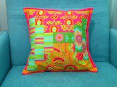 Almofadas coloridas Patchwork pillow