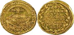 German States/Regensburg/Imperial City AV Dukat 1649 Commerative: Treaty of Westphalia 1648