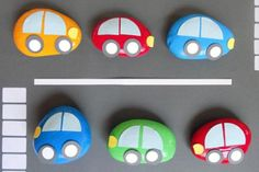 summer survival kids crafts - A girl and a glue gun Kids Crafts, Projects For Kids, Diy For Kids, Craft Projects, Pebble Painting, Pebble Art, Stone Painting, Rock Painting, Stone Crafts