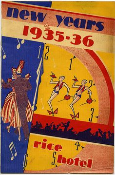 mid-1930s houston new year's eve