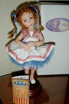 Mint Ashton Drake Little Miss Liberty by Dianna Effner