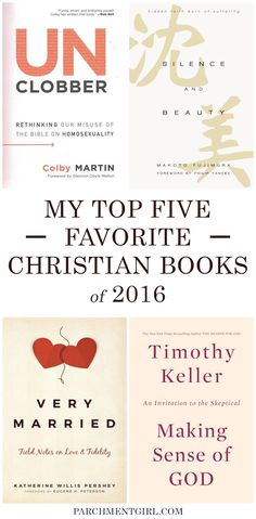 See all the best Christian books of 2016! via @ParchmentGirl