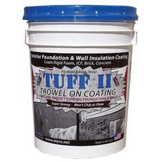 STYRO Industries 5 Gal. Foundation Grey Tuff II Foundation Coating TTFG at The Home Depot - Mobile