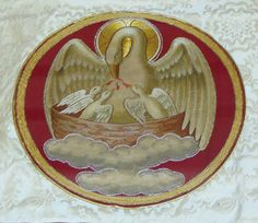 ecclesiastical embroidery | Ecclesiastical Embroidery: Pelican Altar Frontal (Superfrontal)