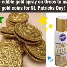 Gold Coin Cookies.