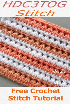 Free crochet stitch tutorial for design, lovely stitch pattern which is ideal for blankets, scarves baby crochet etc. to find the free crochet stitch instructions on CLICK the picture and scroll down the page for USA and UK formats. Crochet Stitches For Blankets, Crochet Stitches Free, Afghan Crochet Patterns, Crochet Afghans, Crochet Patterns For Scarves, Dishcloth Crochet, Crotchet Patterns, Crocheting Patterns, Crochet Borders