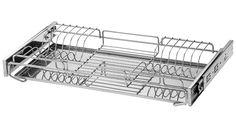 Escorredor de pratos embutido / escorredor de pratos aéreo. Fonte: Schmitt Aramados.