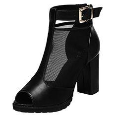 Guqitianlun Ladies' Leather Mesh Peep-toe High Chunky Heels Ankle Booties(5 B(M)US, Black) Guqitianlun http://www.amazon.com/dp/B00XVY1BLE/ref=cm_sw_r_pi_dp_QV5Cvb0FVFAV2