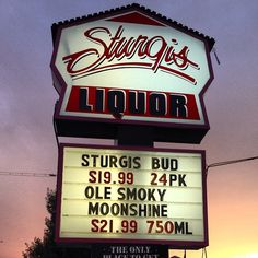 Thanks to Sturgis Liquor for having us this past week during Sturgis Rally! #Merchandise #FreeSamples #SturgisRally #Moonshine #OleSmoky #ShineResponsibly
