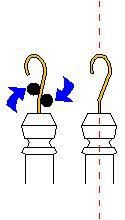 Adjusting your hook for a good spin ;)