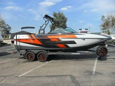 NEW CRAZ IS IN AT ROMOBOCO! Introducing the New 2016 Moomba Craz. Continued innovation pushed us to create a boat that provides superior wakes and surf waves with ease. Featuring a refined version of the Mojo Hull and measuring a healthy 22 feet. Powered by the industry leading Raptor by Indmar 6.2 liter engine and loaded with features designed for the serious wakeboard and wakesurf enthusiast. . - 2016 Craz is here!