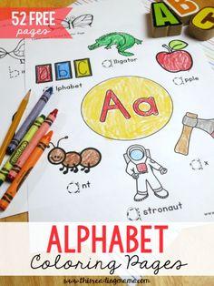 52 FREE Alphabet Col