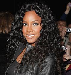 Kelly Rowland Long Curls - Kelly Rowland Long Hairstyles - StyleBistro