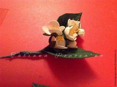 Веточка жасмина из фоамирана - Ярмарка Мастеров - ручная работа, handmade