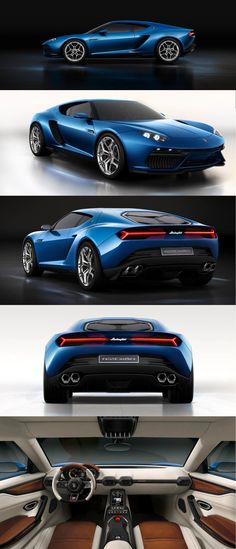 Lamborghini Asterion LPI 910-4 Hybrid Concept. It'll never be made, but it's still cool.