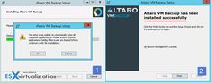 How-to Update Altaro VM Backup Software