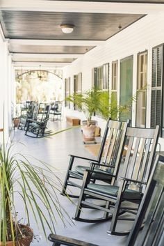 Spending a luxurious few days at the historic Greyfield Inn. Exterior Design, Interior And Exterior, Outdoor Spaces, Outdoor Living, Southern Front Porches, Ann Street Studio, Cumberland Island, Fresh Farmhouse, Old Farm Houses