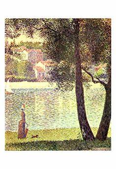 "Artdash® Decorative Fine Art Reproduction ~ ""The Seine at Courbevoie"" by Georges Seurat ArtDash® http://www.amazon.com/dp/B00TYKFEF8/ref=cm_sw_r_pi_dp_z1n7ub1DJNVBZ"
