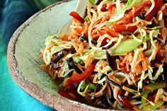 Sałatka z kiełków z grzybami munWrząca Kuchnia – Najlepsze przepisy kulinarne Tacos, Mexican, Ethnic Recipes, Food, Essen, Meals, Yemek, Mexicans, Eten