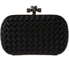 Bottega Veneta Clutches ($1,290) ❤ liked on Polyvore featuring bags, handbags, clutches, nero, bottega veneta clutches, bottega veneta purse, bottega veneta and bottega veneta handbags