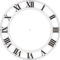 Creating Myself: Clock faces...  Print template on scrapbook paper.