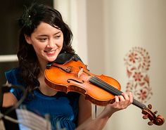 play the Violin! In the near future, I hope I'd be able to, boyfie will teach me :P